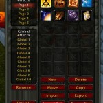 The Main Power Aura Menu