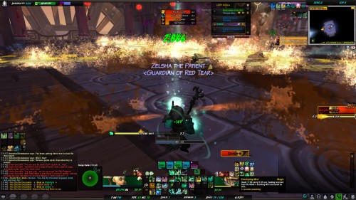 This is my UI with the dbm warnings and bars and proximity monitor.